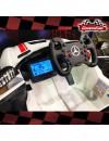 MERCEDES AMG GTR VERDE 2 PLAZAS 2 × 12 VOLTIOS 4WD